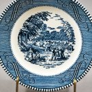 Royal China Currier & Ives Bread & Butter Plate Harvest