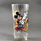 1978 Walt Disney Happy Anniversary  Pluto with Newspaper Pepsi Drinking Glass