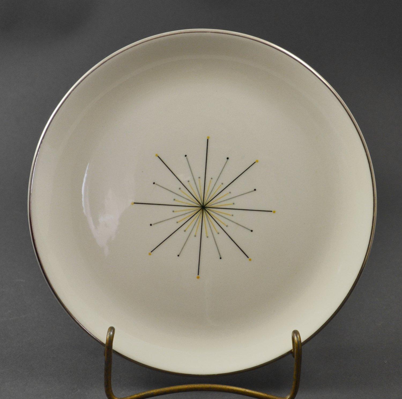 Homer Laughlin Modern Star Dinnerware Porcelain Bread & Butter Plate