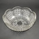EAPG Greentown Austrian No.200 Crystal Clear Glass Large Berry Bowl