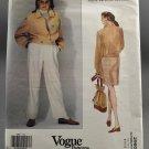 Vogue Sewing Pattern 2960 Perry Ellis American Designer  Uncut Misses Size 8-10-12