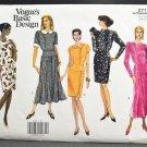 Vogue Basic Design Sewing Pattern 2715 Uncut Misses Dress Size 6-8-10