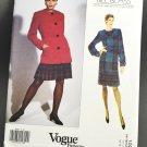 Vogue Sewing Pattern 1027 Bill Blass Uncut Misses Dress & Jacket Size 12-14-16
