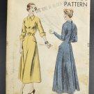 Vogue Sewing Pattern 6529 Cut Misses 1940s Dress Size 14