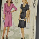 1940s McCall's Sewing Pattern 5429 Misses Dress w/ Scoop Neckline Size 12
