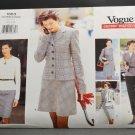 Vogue Sewing Pattern 1663 Career Wardrobe Uncut Misses 5 Piece Suit Size 12-14-16