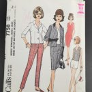 McCall's Sewing Pattern 7758 Misses Separates Size 16 1960s Complete