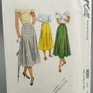McCall's Sewing Pattern 8089 Misses Gored Skirt Waist Size 28