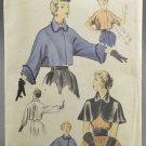 Advance Sewing Pattern 5666 Misses 1950s Short Jacket & Cape Size 14-16