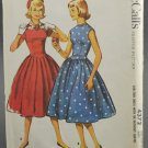 McCall's Sewing Pattern 4372 Dress Sub-Teen Size 10s