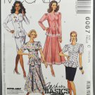 McCall's 6067 Sewing Pattern Fashion Basics Misses' Two-Piece Dress Size C 10-12-14