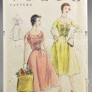 Vogue 8345 Sewing Pattern 1950s Dress Size 16