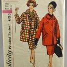 Simplicity Slenderette 3622 Sewing Pattern Misses' Walking Suit Skirt & Coat Size 12