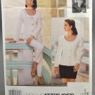 Vogue Attitudes 2898 Charlotte Neuville Jacket Pants & Skirt Misses' Size 6-8-10