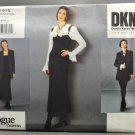 Vogue 1415 American Designer Donna Karan Jacket Dress Shorts Misses' Size 8-10-12
