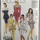 McCall's 5727 Misses' Two Piece Dress Fashion Basics Sewing Pattern 1990s Size 12