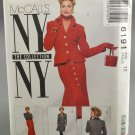McCall's 6191 Misses' Jacket & Skirt NY Collection Sewing Pattern 1990s Size 12