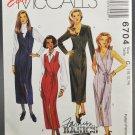 McCall's 6704 Sewing Pattern Fashion Basics Misses' Wrap Dress & Jumper Size C 10-12-14