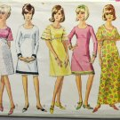Simplicity Sewing Pattern 6457 Teen Empire Waist Dress Size 10T Complete