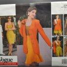 Vogue 2907 Career Wardrobe Dress Jacket Top Skirt Shorts Misses' Size 12-14-16