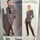Vogue 2959 American Designer Geoffrey Beene Jacket Skirt & Pants Misses' Size 8-10-12