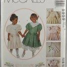 McCall's 5959 Kitty Benton Girls' Children's Dress Slip & Pantaloons Size 3