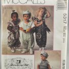 McCall's 5317 Gooseberry Hill Toddlers' Jumpsuits & Hat Size CC (2-3-4)