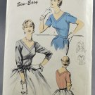 Advance 6505 Sewing Pattern Mademoiselle Blouse Misses' Size 16