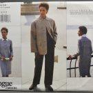 Vogue 1434 Geoffrey Beene American Designer Misses' Dress & Pants Pattern Size 12-14-16