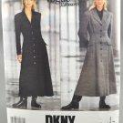 Vogue 1054 DKNY American Designer Misses' Dress Size 8-10-12
