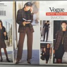 Vogue 1682 Tamotsu Career Wardrobe Dress Jacket Skirt Pants Top Size 8-10-12