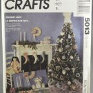 McCall's 5013 Crafts Holiday Lace Victorian Christmas Ornaments Decorations