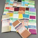 Sewing Seam Binding 100% Rayon Lot of 20 Packs in Various Colors & Manufacturers