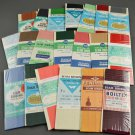 Lot of 20 Sewing Seam Binding Pack 100% Rayon w/ Various Colors & Manufacturers