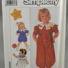 Simplicity 9468 Toddlers' Girl's Dress Jumpsuit Romper Size A 6 mo -3
