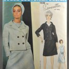 Vogue 1536 Sewing Pattern Couturier Design Simonetta of Italy Misses' Suit Size 12