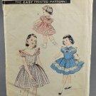 Advance 7898 Sewing Pattern 1950s Child's Dress Size 4