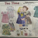Sunrise Designs Style 245 Sewing Pattern Tea Time Toddler Dresses Size 2T - 4T 4 & 5