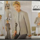 Vogue 2076 Sewing Pattern Misses' 1990s Wardrobe Misses' Size 12-14-16