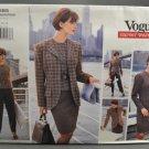 Vogue 1685 Sewing Pattern Misses' 1990s Career Wardrobe Misses' Size 8-10-12