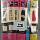 Lot of 19 Talon or J & P Coats Sewing Zippers Various Lengths