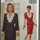 Butterick 6587 Noviello Bloom 1990s Sewing Pattern Misses' Top & Skirt Size 12-14-16