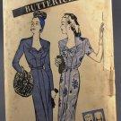 Butterick 3271 Sewing Pattern 1940s Dress w/ Sweetheart Neckline Size 16