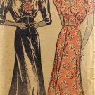 New York 754 Sewing Pattern Ladies' 1930s Dress Size 20