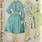 Simplicity 3870 Sewing Pattern Miss Dress w/ Sleeve Options Size 16