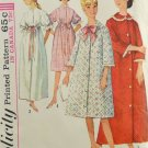 Simplicity 5726 Sewing Pattern Miss Robe Length & Sleeve Options Size 16