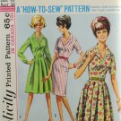 Simplicity 5877 Sewing Pattern Miss Dress w/ Sleeve Options Size 16