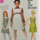 Simplicity 8008 Sewing Pattern Teen/Junior Jumper or Dress & Blouse Size 11/12