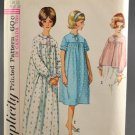 Simplicity 5193 Size 12 Sewing Pattern Misses' Nightgown and Bedjacket