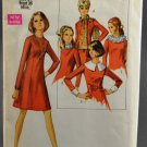 Simplicity 8391 Sewing Pattern Misses' Dress w/ Scarf Size 14